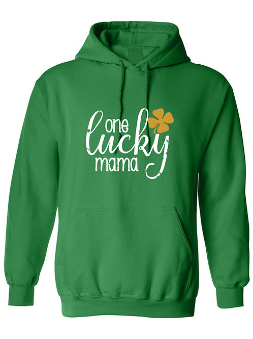 Lucky Mama - Ultra Warm Hoodie | Tin Tree Gifts Apparel