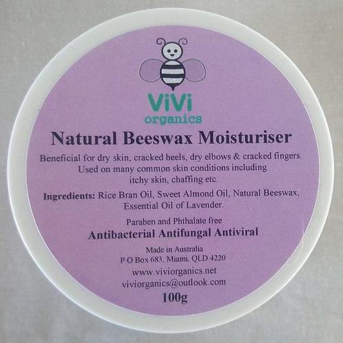 Natural Beeswax Moisturiser - Vivi Organics