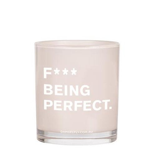F*** being perfect Candle - large
