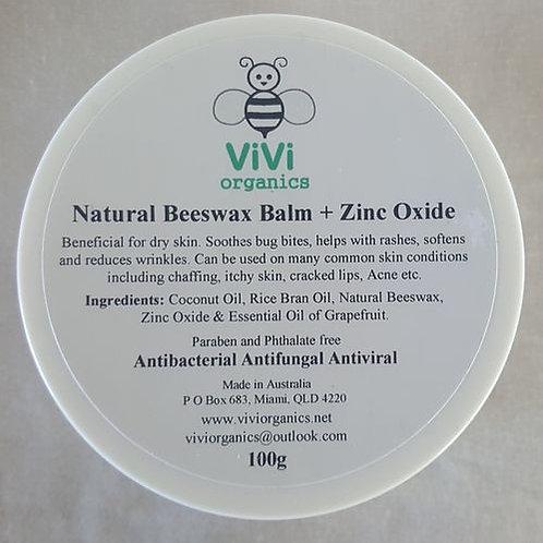 Beeswax Balm with Zinc Oxide - Vivi Organics