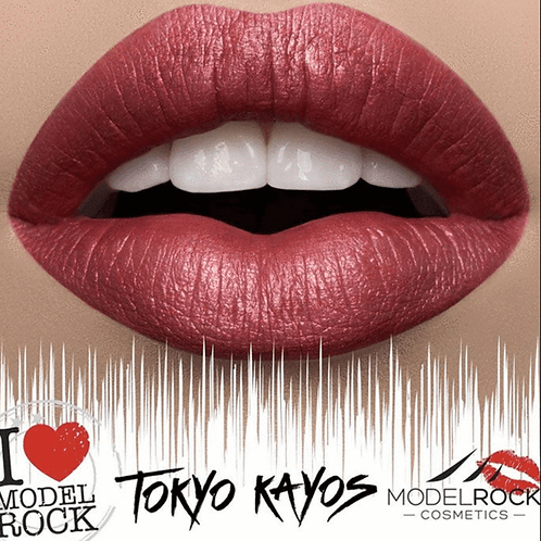 Model Rock Metallics Collection lipstick
