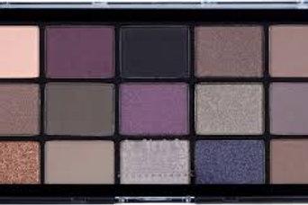 MUA Twilight 15 shade eyeshadow palette