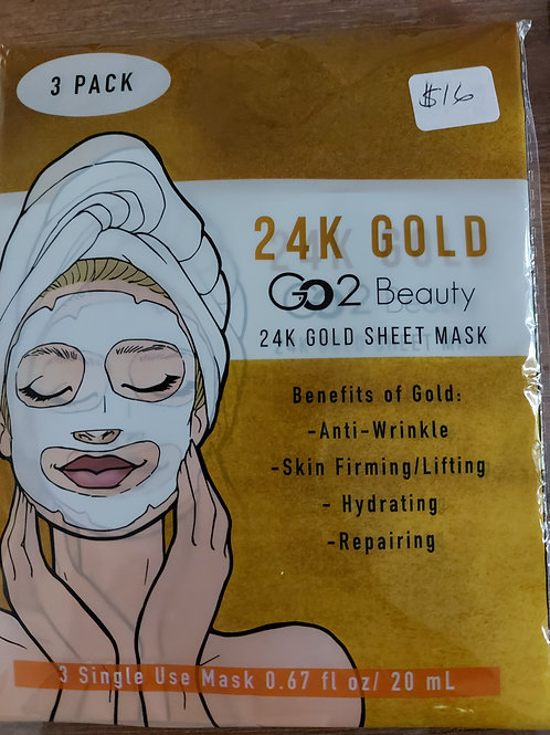 Go2 24K Gold Sheet Mask