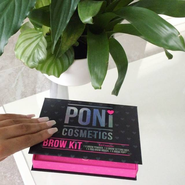 How cute are the new PONi Brow Kits?! Available in store in 3 shades from tomorrow! 🦄✨ @ponicosmetics