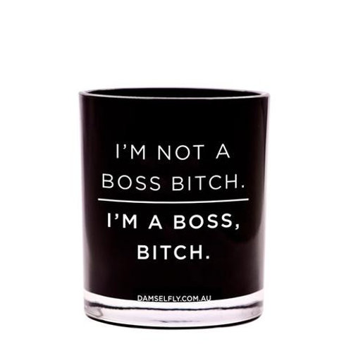 I'm not a Boss B*tch Candle - large