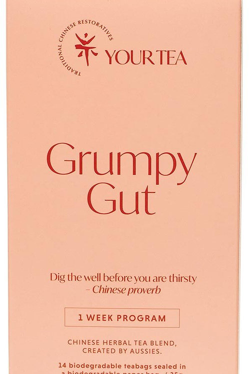 Grumpy Gut Chinese Herbal Tea Blend - 1 week supply