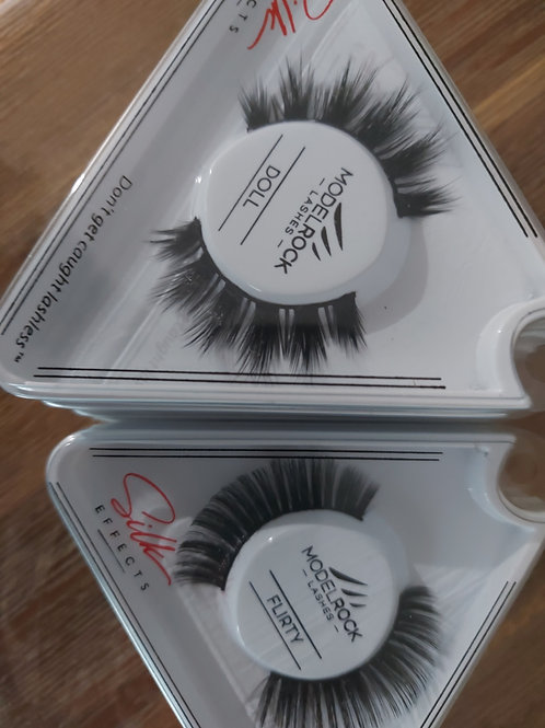 Model Rock Silk Lashes - limited edition
