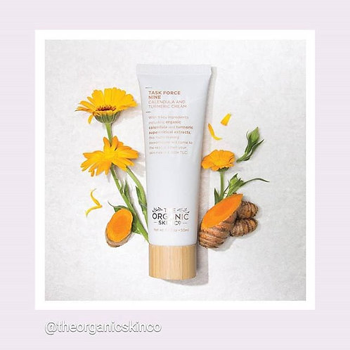 The Organic Skin Co. Taskforce Nine Calendula and Turmeric Cream 50ml