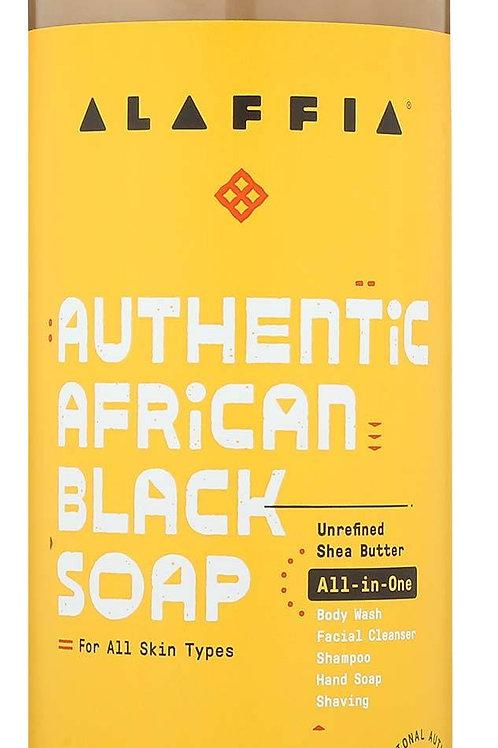 Alaffia Authentic African Black Soap with Tangerine Citrus