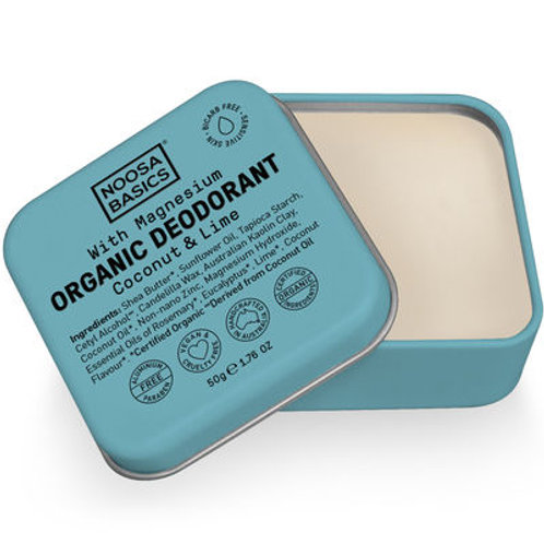 Noosa Basics Organic Deodorant -Coconut & Lime