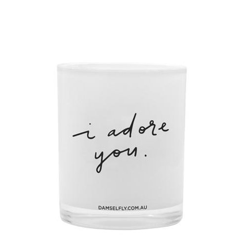 I Adore You Candle - large