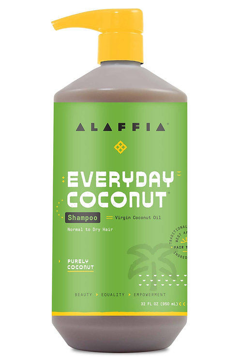 Alaffia - Everyday Coconut Shampoo - Purely Coconut