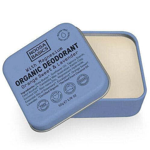 Noosa Basics Organic Deodorant - Orange Sweet & Lavender