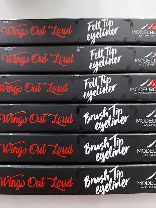 Model Rock Wing Eye Liner