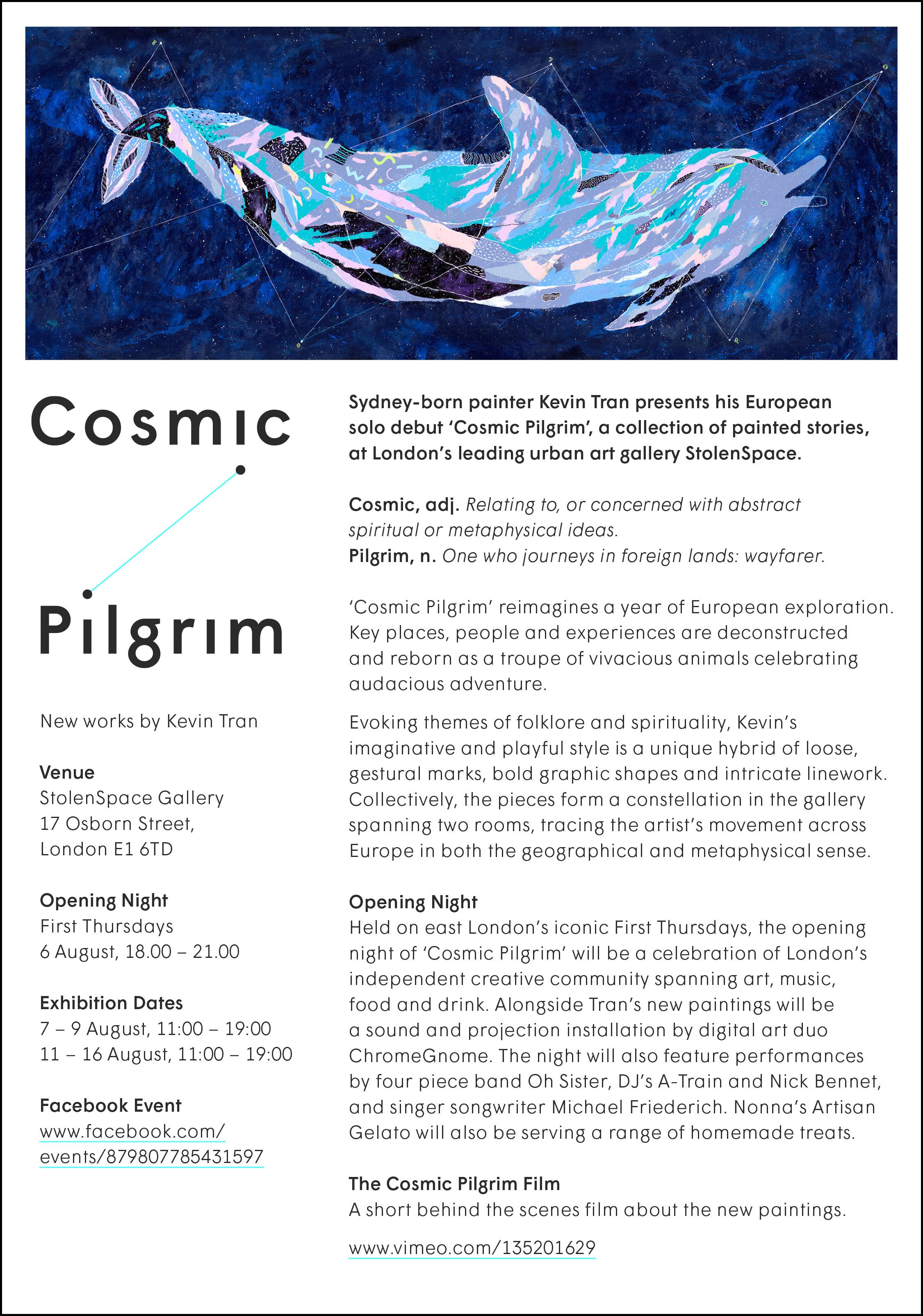 KevinTran_CosmicPilgrim2015_PressRelease-1