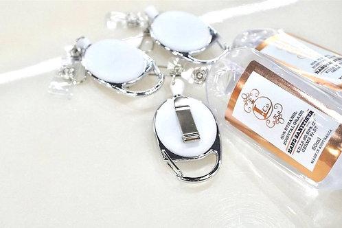 Retractable Clip Key Ring