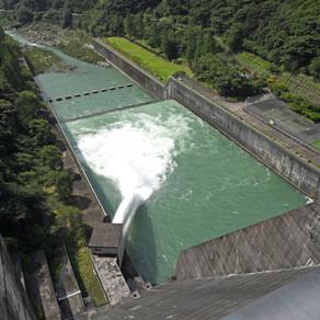作業に伴う各ダムからの放流に関するお知らせ