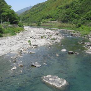 上八川川、分水第二・第三発電所 放流のお知らせ