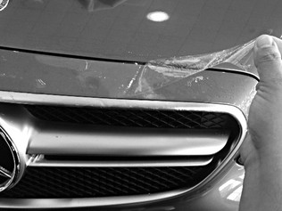 Paint protection from rock chips and other road debris.