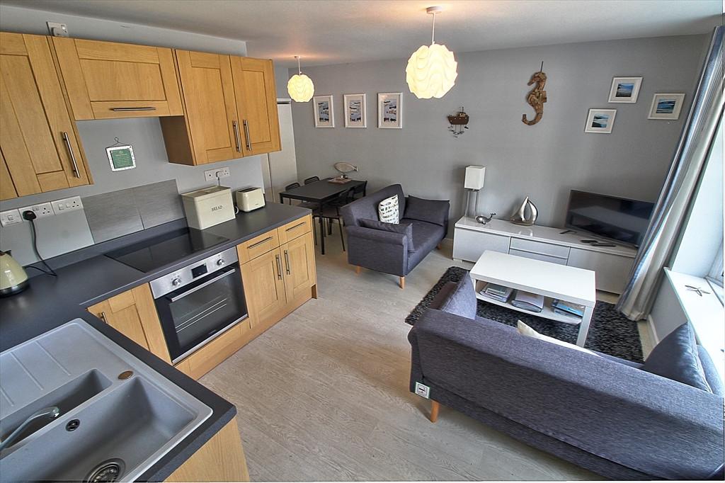 Open Plan Living Kitchen Area