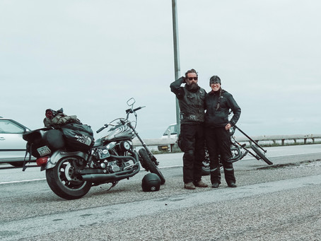 """ROADS ARE FOR JOURNEYS - MOTORCYCLING THROUGH EUROPE"""