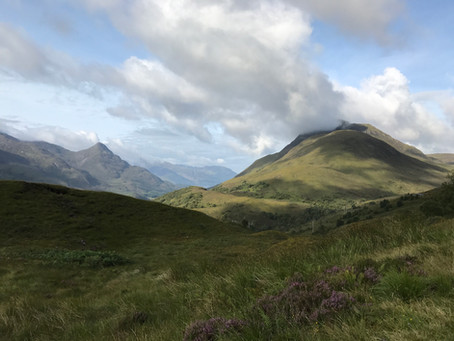 A Hike in the Highlands - Glasgow to Ft William