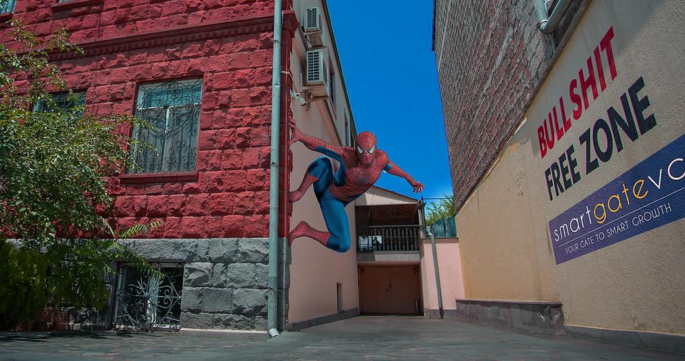 Hero House in Yerevan, Armenia