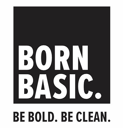 Born basic hand sanitizer logo