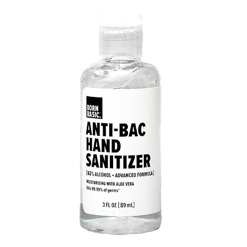 Born Basic Anti-Bac Hand Sanitizer - 3 oz