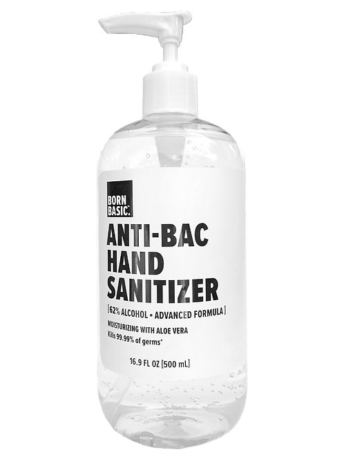 Born Basic Anti-Bac Hand Sanitizer - 16.9 oz