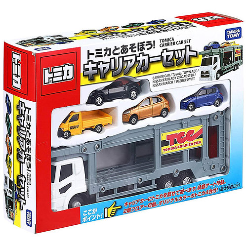 Takara Tomy Tomica Carrier Car 運輸車套裝玩具 423249