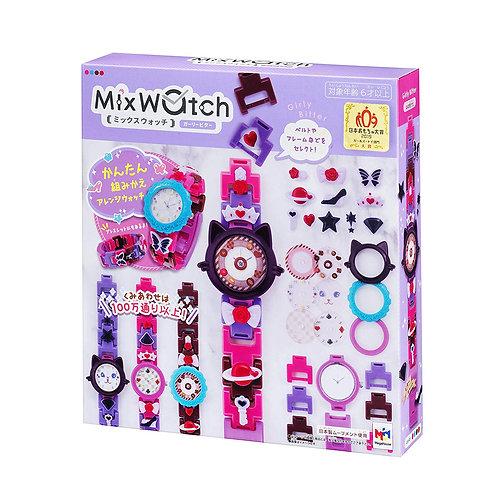 (預訂) MegaHouse Mix watch 手錶 DIY 積木手錶 - Girly Bitter 513993