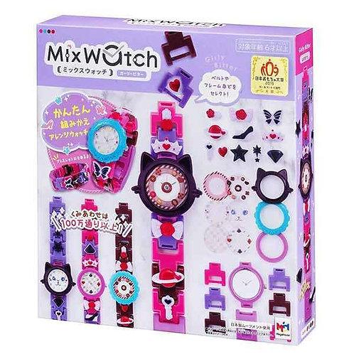 (現貨) MegaHouse Mix watch 手錶 DIY 積木手錶 - Girly Bitter