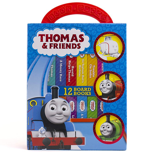 (預訂) Thomas & Friends My First Library Board 兒童圖書 (1套12本)