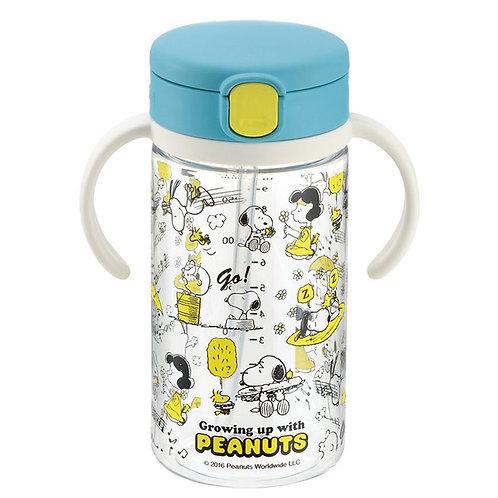 (只接受訂貨) Richell Snoopy 史努比 7個月起嬰兒吸管式飲水杯 (Peanuts) 320ML 213902