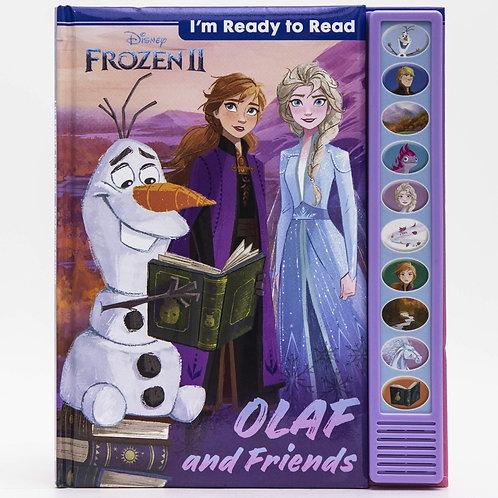 (現貨) Disney Frozen 2 冰雪奇缘 - 發聲硬皮學習書