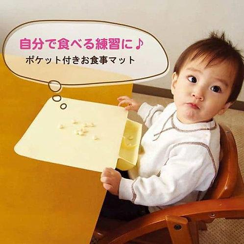 (現貨) Wan Wan Baby 矽膠口袋附餐桌墊 (可捲起收納)