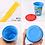 Thumbnail: (預訂) 日本製 Skater 防漏吸管水杯 隨身杯 320ml  (3個裝)