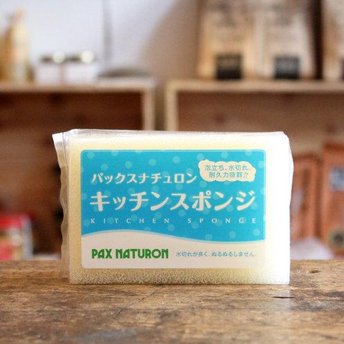 (現貨) 日本製 Pax Naturon太陽油脂洗碗海綿 056324