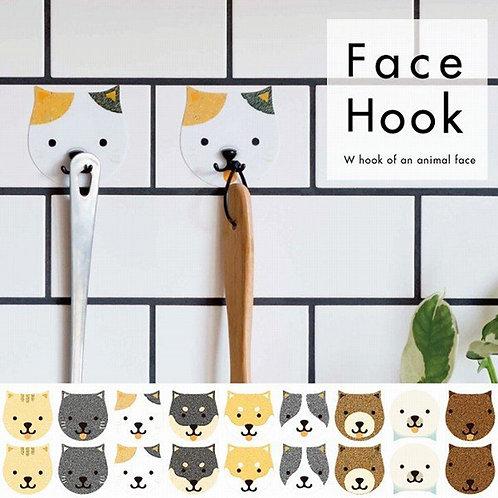 (現貨) Toyo Case Face Hook 動物頭掛鉤 (1袋2個)