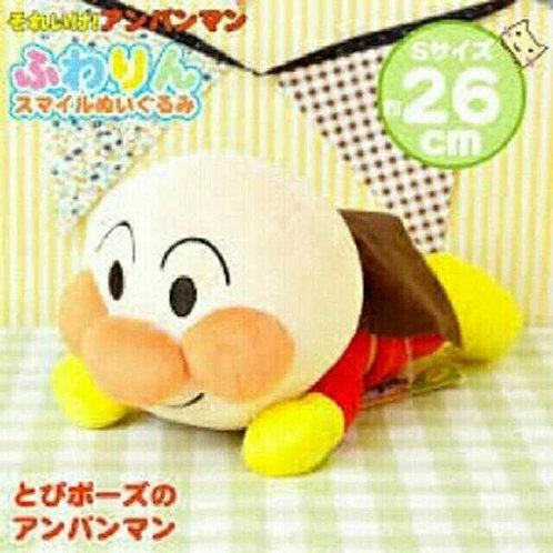 (現貨) Sega Toys 麵包超人系列 飛行超人毛公仔 26cm