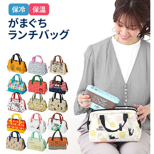 (預訂) Skater 卡通人物保溫保冷 Lunch Bag 手提袋