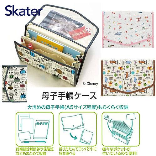 (預訂) Skater 卡通人物不織布質地母子手帳收納包