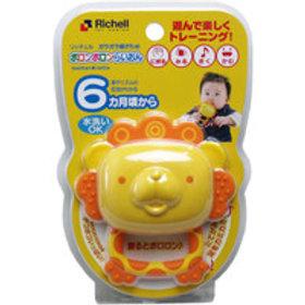 Richell 小獅子搖鈴牙膠 (6個月起用) 436608