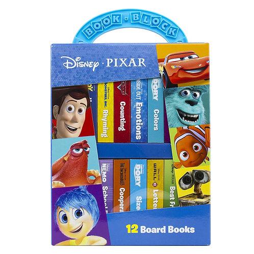 Disney PIXAR all stars ! My First Library Board 兒童圖書 (1套12本)
