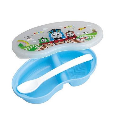 日本製 Thomas & Friends 離乳食餐匙及食物盒 079085