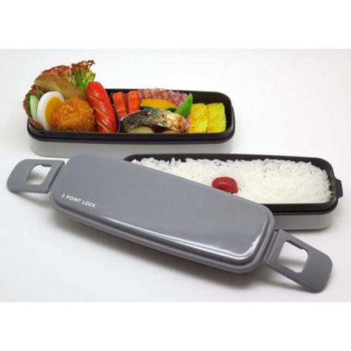 (現貨) 日本製 OSK 2 Points Lock 兩段小食便當飯盒 Lunch Box 650ml 109065