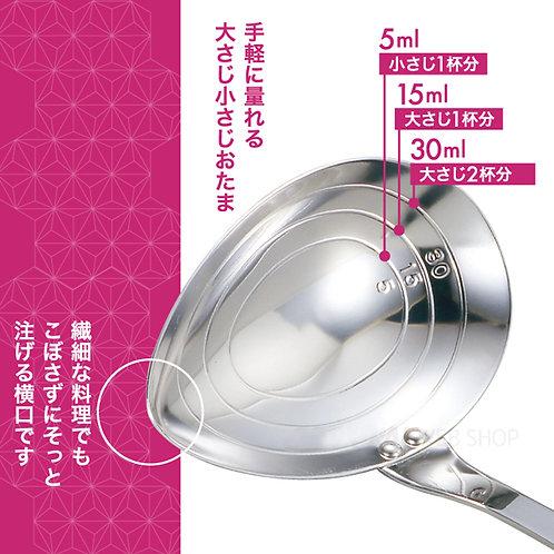 (現貨) 日本製 吉川 Yoshikawa 不鏽鋼湯勺(容量刻度附) SJ2239