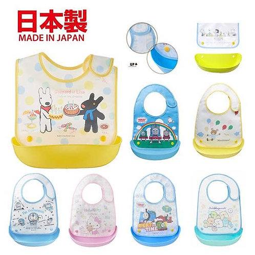 (預訂) 日本製 OSK 幼兒兩用口水肩圍兜 (飯衣)
