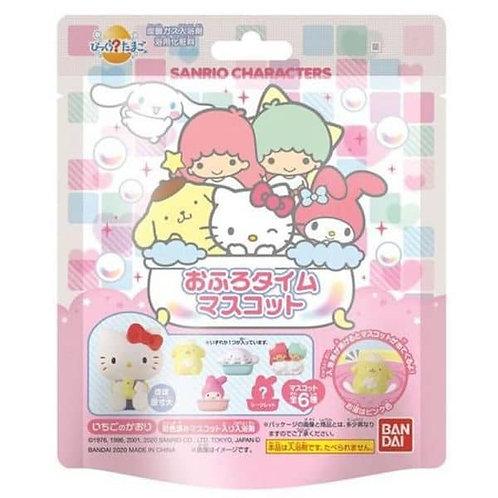 (現貨) Bandai Sanrio All Stars Bath Ball 草莓香味發泡入浴球 (附玩具)